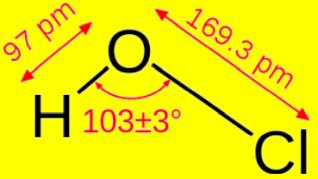 次亜塩素酸分子
