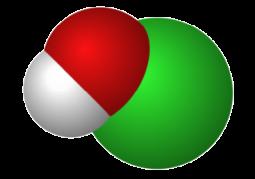 次亜塩素酸分子イメージ